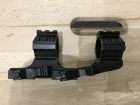 "Quick Release Cantilever 30mm/1"" Scope Mount"